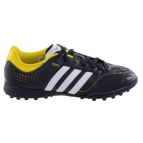 Adidas Buty piłkarskie 11 questra trx tf q23869 czarno-żółte