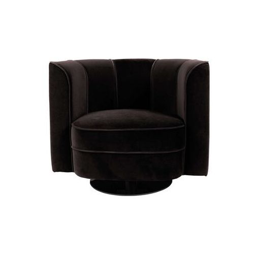 fotel flower czarny 3100068 marki Dutchbone