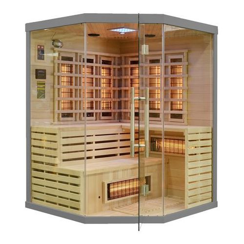 Sauna infrared z koloroterapią EA3CR Grey