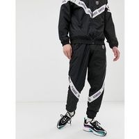 westmont track joggers with taping in black - black marki K-swiss