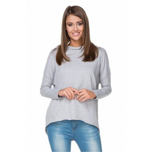 Bluza Damska Model T190/2 Light Grey, kolor szary