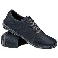 Półbuty buty 1-4237-409 granatowe - granatowy ||niebieski marki Kacper