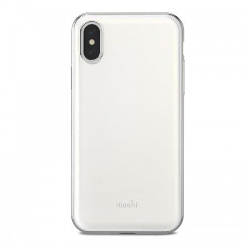 Moshi iGlaze - Etui iPhone X (Pearl White) (4713057252525)