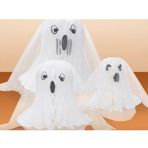 Dekoracja stołu Duch na Halloween - 3 szt.