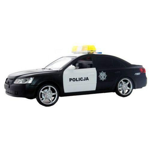 Mega creative Samochód moje miasto policja 382257 czarny - darmowa dostawa kiosk ruchu (5902643610460)