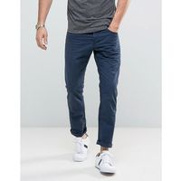 Esprit 5 pocket casual trousers in navy - navy