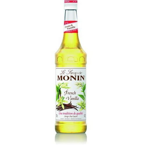 Monin Syrop smakowy french vanilla, francuska wanilia 0,7l (3052910041267)