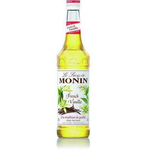 Syrop smakowy Monin French Vanilla, francuska wanilia 0,7l (3052910041267). Najniższe ceny, najlepsze promocje w sklepach, opinie.