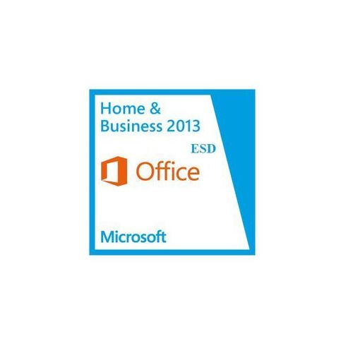 Microsoft  office home & business 2013 esd 32/64-bit pl