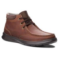 Trzewiki - cotrell top 261367067 tobacco leather, Clarks, 41-47