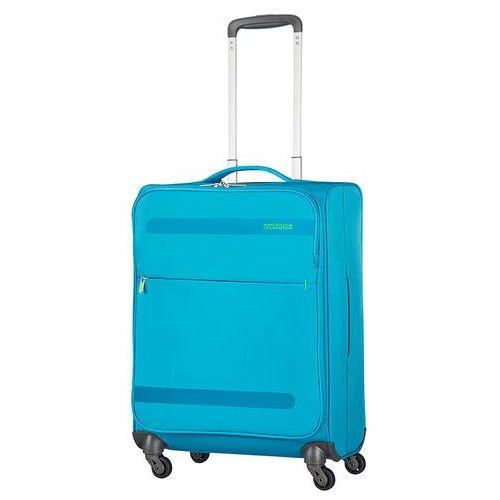 American tourister herolite mała walizka kabinowa 20/55 cm / niebieska - mighty blue