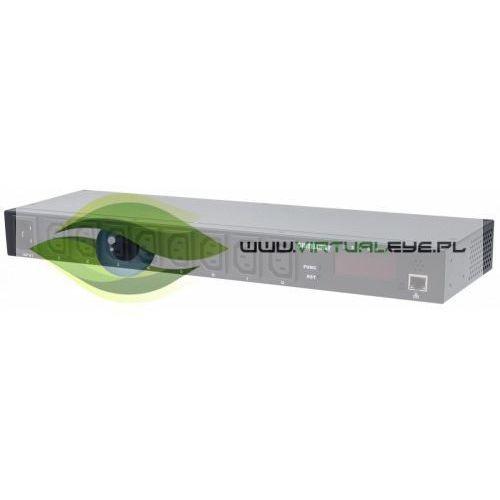 Intellinet Listwa zasilajaca rack 19 1U 110V-250V/16A 8 gniazd C13 zarządzalna IP, 1_663394