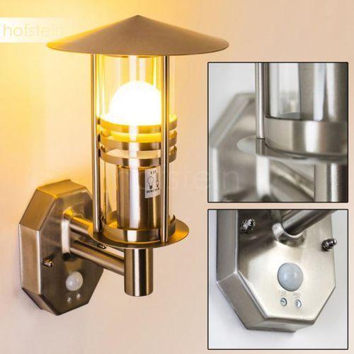 Hofstein Forli lampa ścienna stal nierdzewna, 1-punktowy - nowoczesny - obszar zewnętrzny - forli - czas dostawy: od 2-4 dni roboczych (4260303166188)