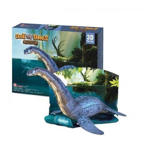 Puzzle 3d świat dinozaurów plesiosaur 38 marki Cubicfun