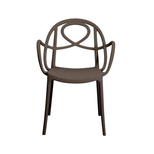 Krzesło ogrodowe Green Etoile P brązowe