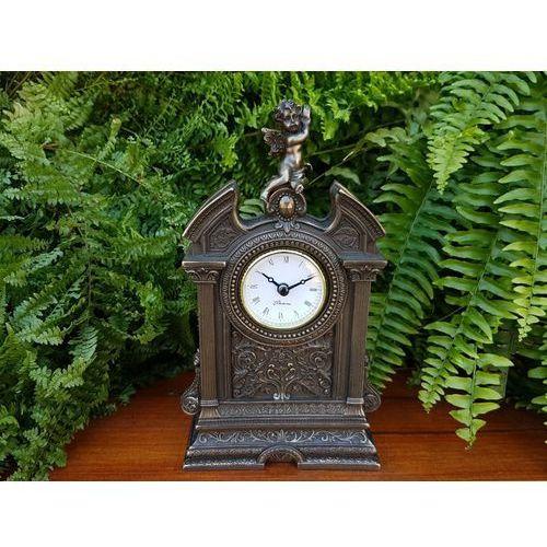 Veronese Okazały barokowy zegar z cherubinkiem (wu75316a1)