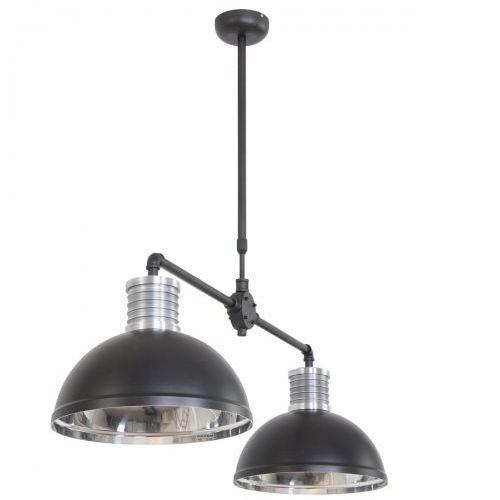 Steinhauer Brooklyn Lampa wisząca Czarny, 2-punktowe - Przemysłowy - Obszar wewnętrzny - Brooklyn - Czas dostawy: od 10-14 dni roboczych