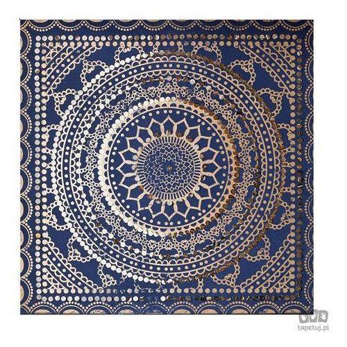Ozdobny obraz Niebieski wzór 101541