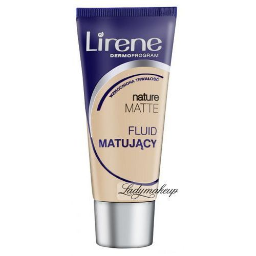 Lirene  - nature matte - fluid matujący-12 - naturalny