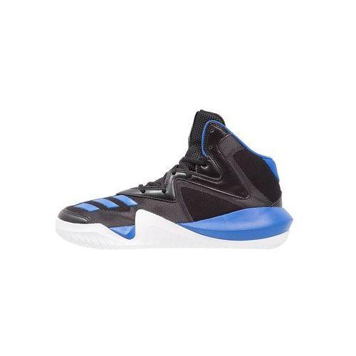 adidas Performance CRAZY TEAM 2017 Obuwie do koszykówki core black/blue/solid grey