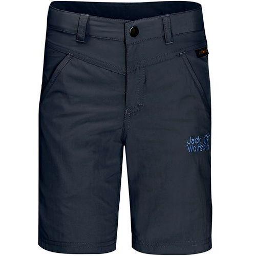 Jack wolfskin krótkie spodenki sportowe night blue (4055001067237)