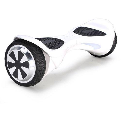 Kolonožka  deskorolka elektryczna standard auto balance z aplikacją mobilną, biała