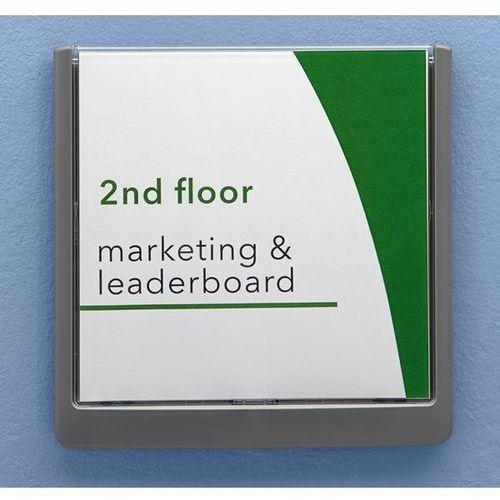Tabliczka na drzwi, z tworzywa, opak. 5 szt., wys. x szer. x głęb. 149x149x12 mm marki Durable