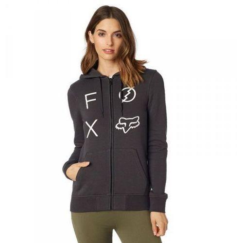 Fox bluza lady z kapt zamek staged black vintage marki Fox_sale