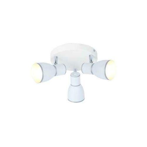 Candellux Plafon lampa sufitowa spot fido 3x40w e14 biały / chrom 98-63397