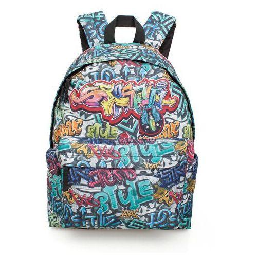 Plecak młodzieżowy graffiti eastwick 43 cm marki J.m. inacio