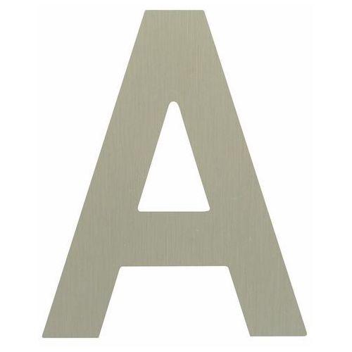 Litera A samoprzylepna 50 mm inox (5905367001057)