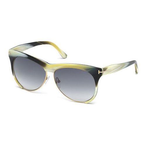 Okulary słoneczne ft0365 leona 60b marki Tom ford