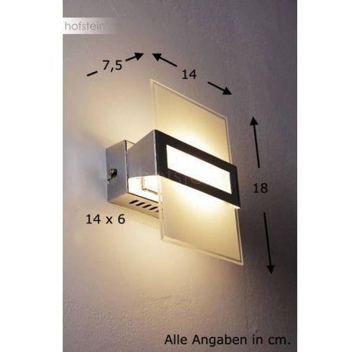 Honsel luz lampa ścienna led chrom, 1-punktowy - nowoczesny/design - obszar wewnętrzny - luz - czas dostawy: od 3-6 dni roboczych (4001133298513)
