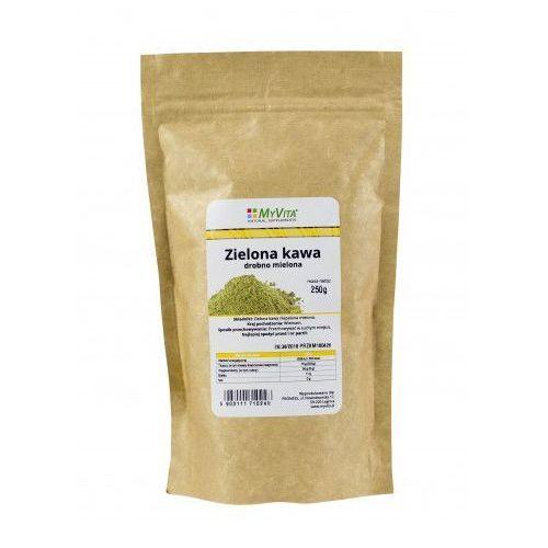 Kawa zielona drobno mielona 250 g marki Myvita. Najniższe ceny, najlepsze promocje w sklepach, opinie.