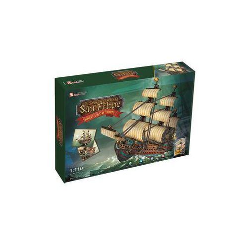 Cubic Fun, puzzle 3D żaglowiec San Felipe (6944588240172)