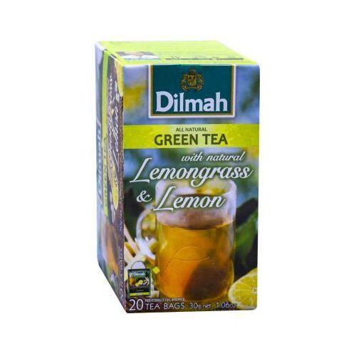 green tea lemongrass & lemon 20 torebek marki Dilmah