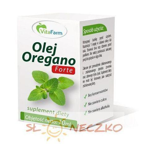 Olej Oregano Forte 100% 10ml Vitafarm (5902273243786)