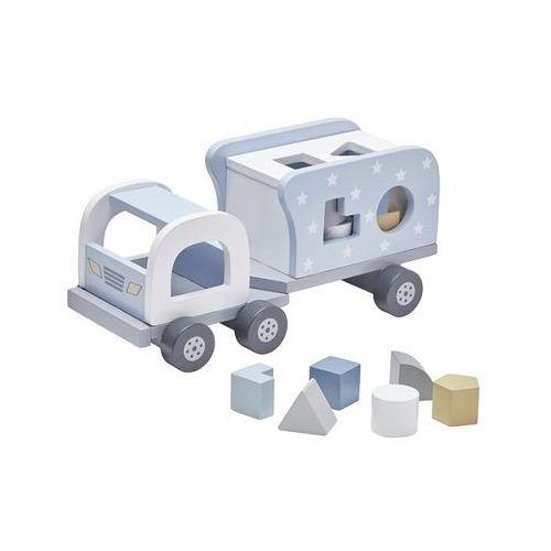 Kids Concept Klocki Drewniane Samochód Blu