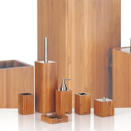 bambus - kubek na szczoteczki - kubek na szczoteczki marki Kela