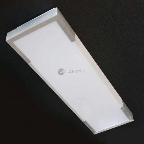 Plafon LAMPA sufitowa SOLID D MX 5030-SL Azzardo kinkiet OPRAWA ścienna aluminium biały - sprawdź w wybranym sklepie
