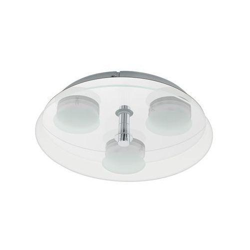 Eglo ABIOLA Lampa Sufitowa LED Nikiel matowy, 3-punktowe - Nowoczesny - Obszar wewnętrzny - ABIOLA - Czas dostawy: od 10-14 dni roboczych (9002759965457)