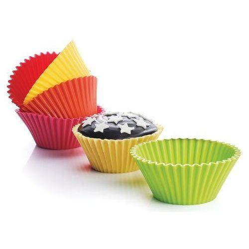 Silicone Zone - Bake n' joy - 6 dużych foremek na muffiny (średnica: 10,5 cm) (4897021403196)