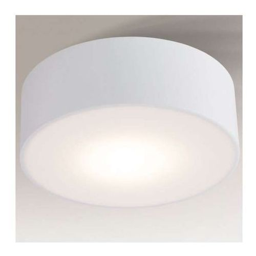 Plafon lampa sufitowa zama 1127/led/bi  natynkowa oprawa okrągła led 15w biała marki Shilo