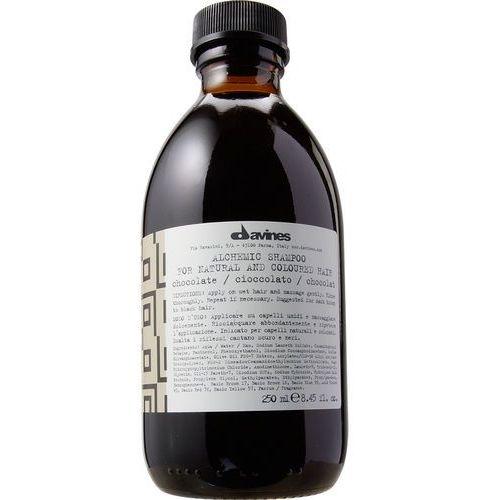 Davines Alchemic Chocolate - szampon do włosów ciemnobrązowych i czarnych 250ml