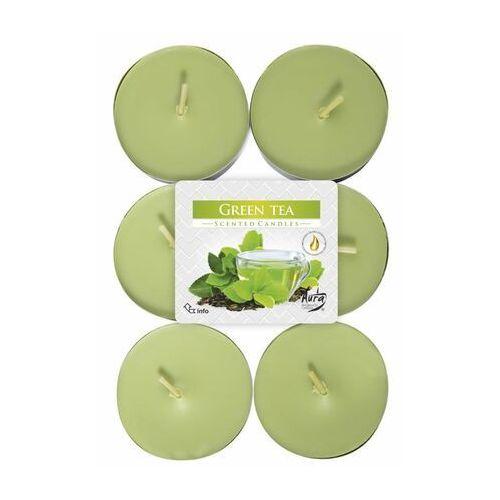 Podgrzewacz zapachowy green tea zielona herbata 6 szt. marki Bispol