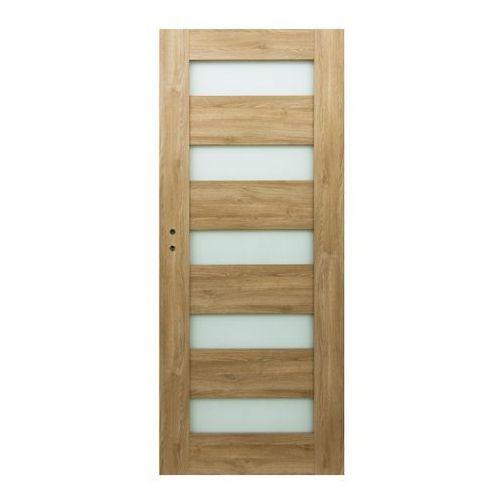 Drzwi pokojowe Borgeno 70 prawe amber (5908443049677)