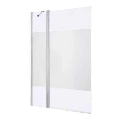 Parawan nawannowy GoodHome Calera 2-częściowy 140 x 105 cm dekor biały, B234