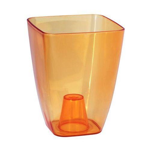 Form-plastic Osłonka plastikowa 13 x 13 cm herbaciana storczyk