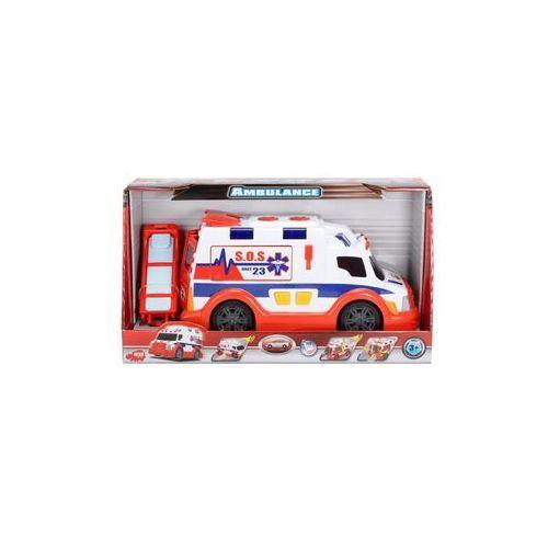 Ambulans biało-czerwony 33 cm (4006333032011)