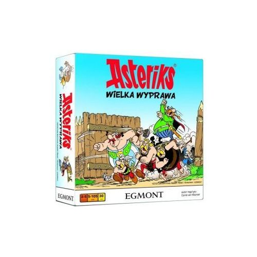 Asteriks. wielka wyprawa. gra planszowa marki Egmont